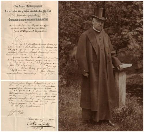 P. Sigismund Gschwandner: Ernennung zum Kustos des k.k. physikalisch-astronomischen Kabinetts (1868).