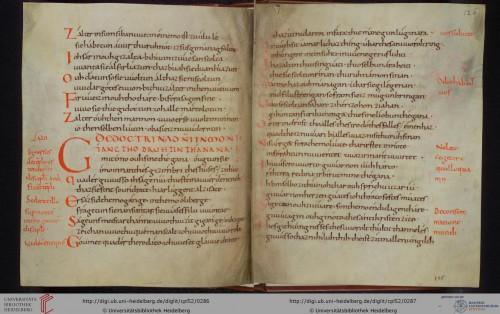 Cod. Pal. lat. 52, fol. 125v/126r