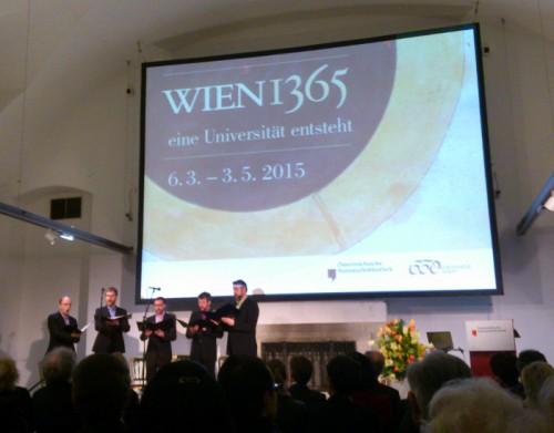 Ausstellungseröffnung am 5. März 2015 im Camineum der Österreichischen Nationalbibliothek