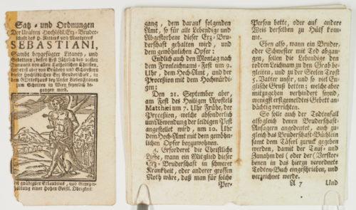 StiA 05.Pfarr Scho 6/01.12. Bruderschaftsbuch der Sebastiani-Bruderschaft (nach 1679).