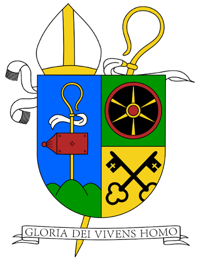 Wappen von Abt Nikolaus Poch